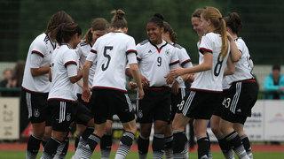 U 15-Juniorinnen: 5:0-Sieg gegen Tschechien