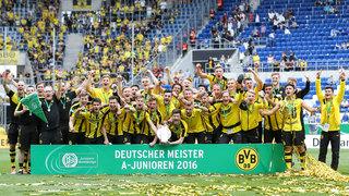 A-Junioren-Meisterschaft: BVB sichert sich den Titel im Finale