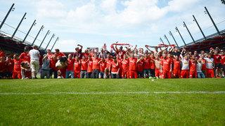Zwickau, Regensburg und Lotte feiern den Aufstieg in die 3.Liga