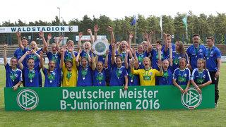 B-Juniorinnen-Bundesliga: Potsdam feiert die Meisterschaft