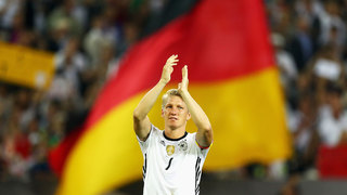 Bastian Schweinsteiger: Sein letztes Länderspiel in Bildern