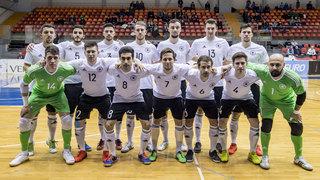 Futsal-Nationalmannschaft unterliegt Armenien in der EM-Qualifikation