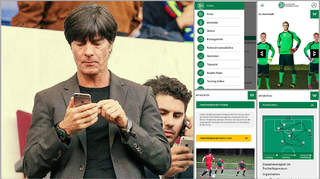 Die Apps des DFB