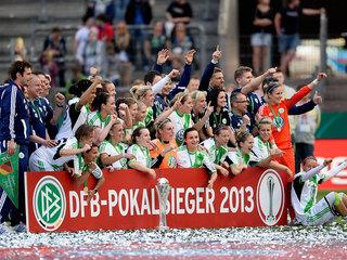 VfL Wolfsburg gewinnt den DFB-Pokal der Frauen 2013