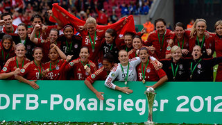 Bayern München gewinnt DFB-Pokal der Frauen 2012