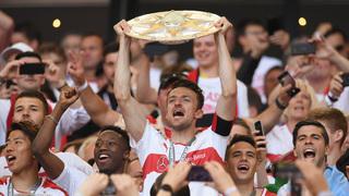 Stuttgart bejubelt Rückkehr in die Bundesliga