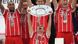Bayern München feiert Meistertitel und Lahm-Abschied