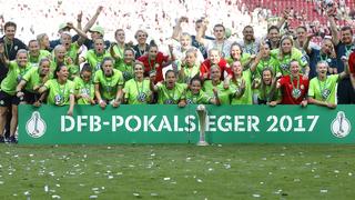Wolfsburg triumphiert erneut im Pokalfinale