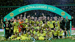 DFB-Pokal-Finale: Dortmund siegt 2:1 gegen Frankfurt