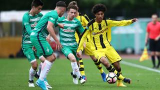 B-Junioren-Halbfinale: Bremen gegen Dortmund