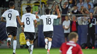 Deutschland siegt 3:0 gegen Dänemark