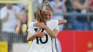 DFB-Frauen gewinnen letzten EM-Test gegen Brasilien