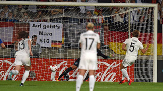 DFB-Frauen feiern 2:1 gegen Italien