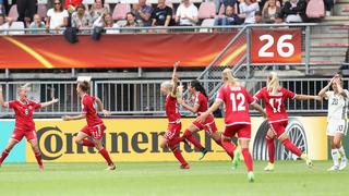 1:2 gegen Dänemark: Aus im Viertelfinale