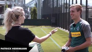 Traumberuf Fußballprofi – Besuch bei Patrick Herrmann