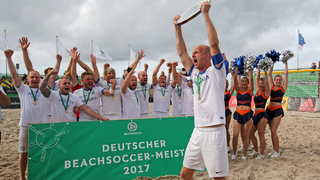Akrobaten auf Sand: Die Deutsche Beachsoccer-Meisterschaft 2017