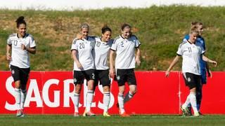 Deutschland vs. Island  (Algarve Cup)