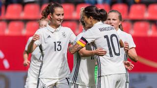 DFB-Frauen besiegen Slowenien 6:0