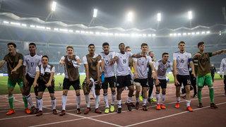 U 17 zieht in WM-Viertelfinale ein