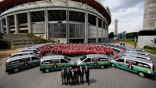Das DFB-Mobil - Fußball auf Rädern