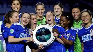 Turbine Potsdam gewinnt den DFB-Hallenpokal der Frauen 2014