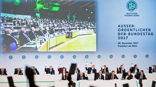 Außerordentlicher DFB-Bundestag in Frankfurt