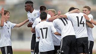 U 17 gewinnt beim Algarve Cup gegen die Niederlande