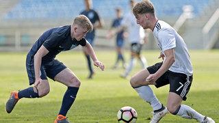 Algarve Cup: U 17-Junioren mit Remis gegen England