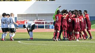 U 16 verliert nach Elfmetern gegen Portugal