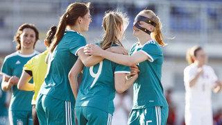 EM-Qualifikation: Kantersieg der U 19-Frauen gegen die Slowakei
