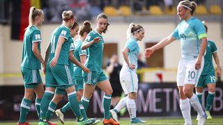 WM-Qualifikation: DFB-Frauen gewinnen in Slowenien