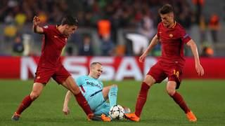Nach vorne verteidigen und schnell umschalten: Der AS Rom steht im Halbfinale