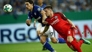 DFB-Pokalhalbfinale: Frankfurt siegt auf Schalke