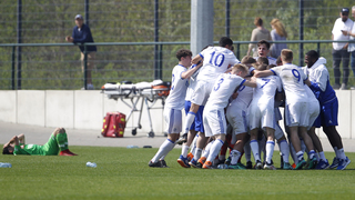 Schalkes A-Junioren feiern die West-Meisterschaft