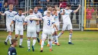 Halbfinale: Schalke und Hertha legen vor