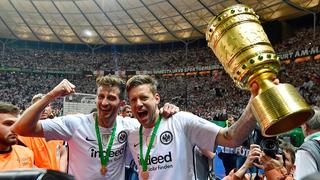 Frankfurt erstmals seit 30 Jahren DFB-Pokalsieger