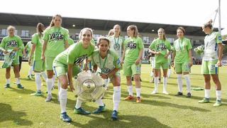 Meisterschale für Wolfsburg
