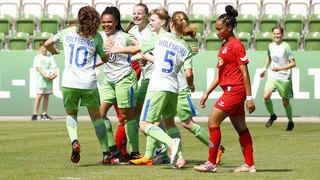 B-Juniorinnen-Meisterschaft: Wolfsburg triumphiert