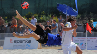 Letzter Vorrundenspieltag der Deutschen Beachsoccer-Liga