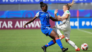 U 20-WM: Deutschland besiegt auch Haiti