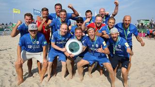 Beachsoccer: Rostocker Robben feiern Titelverteidigung