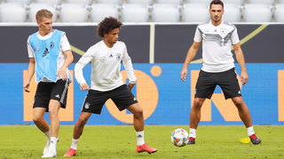 Nations League: Abschlusstraining in München