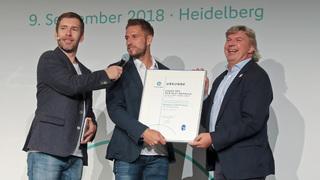Fair Play- und Fritz-Walter-Medaillen in Heidelberg vergeben