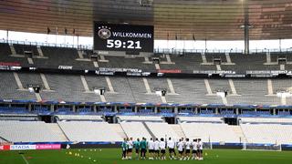 Abschlusstraining im Stade de France