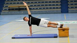 Athletik: Die Kraft im Parcours trainieren