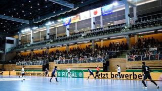 Budenzauber in Düsseldorf: DFB-Futsaler verlieren knapp gegen Japan
