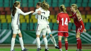 U 16-Juniorinnen besiegen Dänemark mit 4:2