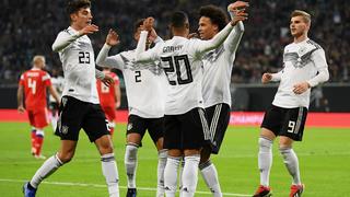 Deutschland gewinnt 3:0 gegen Russland