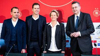 Vorstellung von Bundestrainerin Martina Voss-Tecklenburg