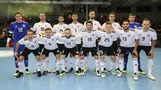 Futsal-Nationalmannschaft feiert Sieg zum Jahresausklang